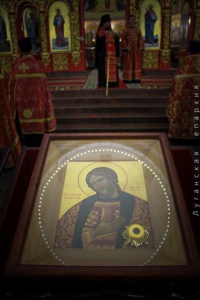 Александр Невский – один из самых почитаемых православных святых. Фото Луганской епархии.