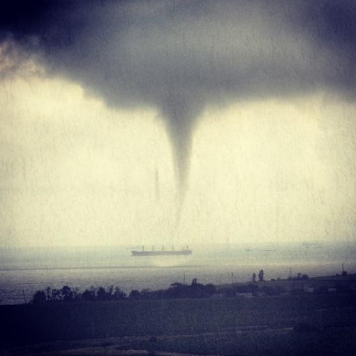 Торнадо в Одессе. Автор фото Ирина Нефедова
