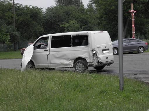 Водители микроавтобусов отказались от госпитализации. Фото МВД Волынской области.