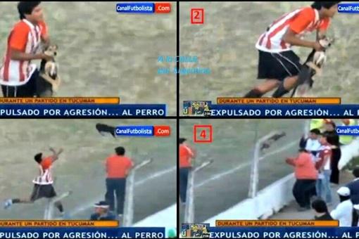 Хименес оказался плохим метателем в длину и высоту. Скриншот с сайта canalfutbolista.com.