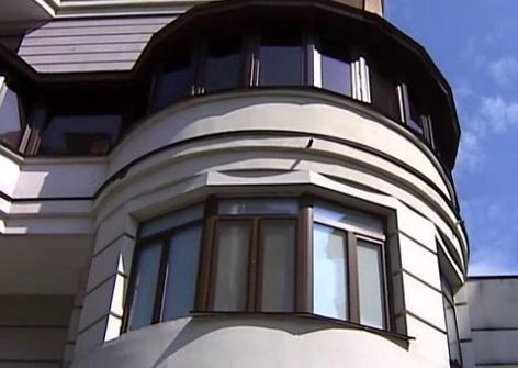 Балкон, квартиры, где произошла трагедия. Скриншот с видео