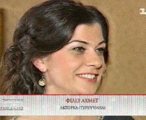 Филиз Ахмет после съемок в сериале времени на личную жизнь не остается. Фото: кадр из телепередачи.