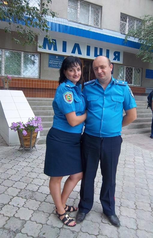 Александр и Ирина даже познакомились в райотделе. Фото: личный архив семьи Скорик.