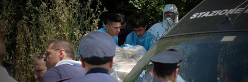 Тело было завернуто в покрывало и упаковано в коробку. Фото с сайта gazetaukrainska.com
