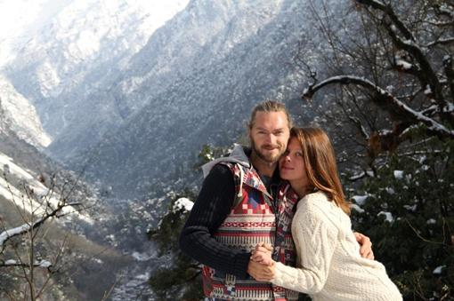 Алена и Эдуард познакомились в Тибете в прошлом году. Фото: соцсети