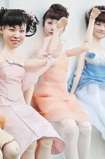 Вместо свадебного альбома фотографий невесты-японки стали заказывать 3D-кукол: точные