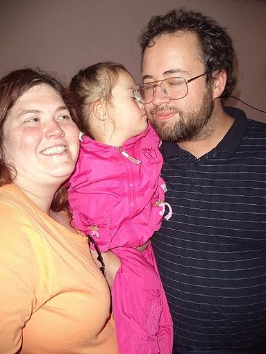 Катя станет третьей дочкой в семье Эзры и Келли.