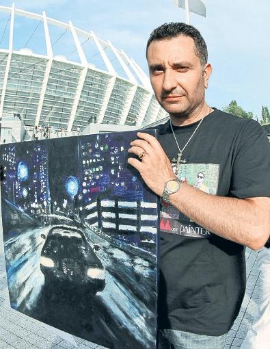 Константин выиграл пропуск на встречу с рокерами благодаря победе в конкурсе на лучший танец под песню Depeche Mode, но своим главным депеш-хобби считает рисование картин по мотивам их композиций.