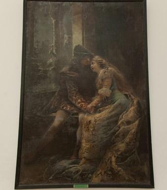 Такими художник Маковский представил Ромео и Джульетту. Фото: Максим Войтенко.