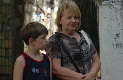 Любовь Дьякова и ее внук Влад до сих пор не могут отойти от шока Фото Константина БУНОВСКОГО