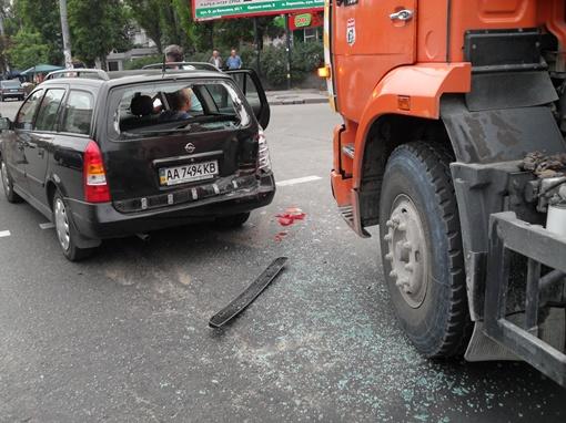 Никто из водителей не пострадал. Фото: Владимир МОЙСЕЕНКО