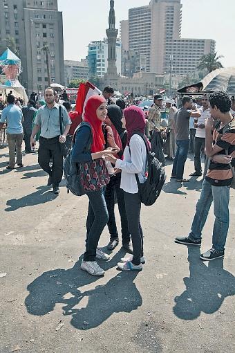 За четыре дня волнений секс-насилию подверглись полторы сотни египтянок. Фото: Александр КОЦ, Дмитрий СТЕШИН.
