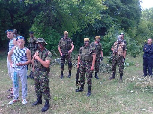 Ребятки из разведки - элита ВДВ. Фото: Олег Климов