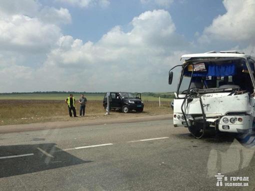 ДТП произошло на перекрестке. Фото vgorode.ua