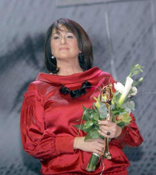 Ольга Герасимьюк в 2012 году. Фото Facebook.com