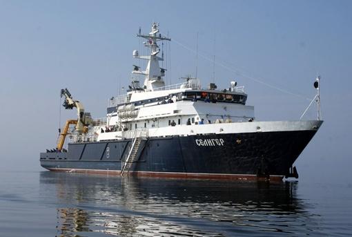 Опытное судно ЧФ РФ