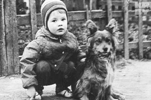 ...но сам артист себе малышей (таких как он на этом фото) не хочет Фото: из архива