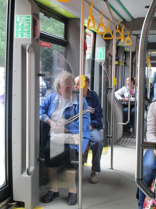 Пассажирам в салоне понравилось  красиво и комфортно. Фото: автор.