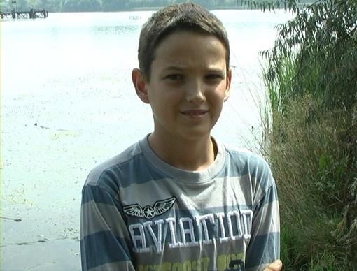 12-летний герой считает, что на его месте так поступил бы каждый. Фото: пресс-служба ГСЧС в Запорожской области.