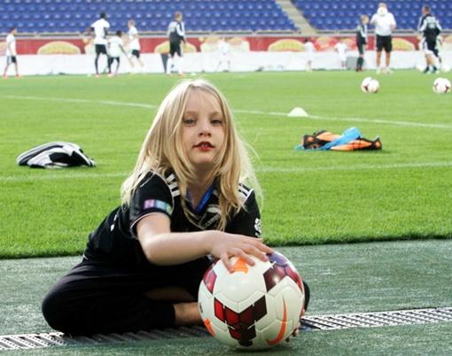 Красавица-блондинка из Таллинна. Фото: Павел ДАЦКОВСКИЙ
