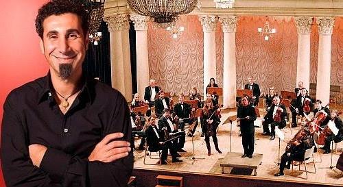 Серж Танкян ударился в классику. Фото с сайта melnitsa.org