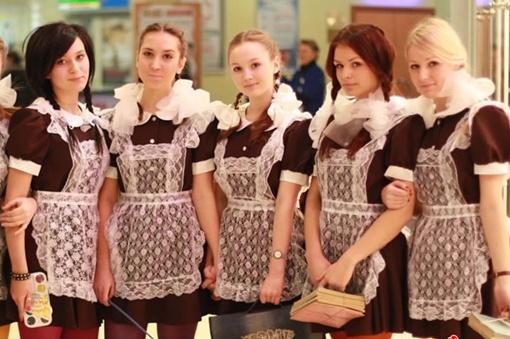 В школы возвращается советская форма. Фото: tsn.ua