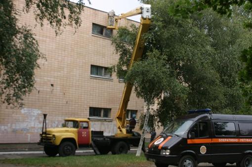 Фото ГСЧС в Полтавской области