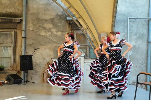 Танцовщицы зажигают публику своими движениями и дробью каблуков. Фото: Александр Брезак.