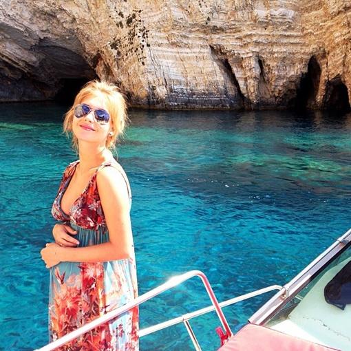 Асмус отдыхает в Греции. Фото instagram.com/asmuskristina
