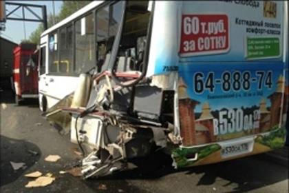 По предварительным данным, в обоих автобусах погибло 8 человек. Фото: МЧС России