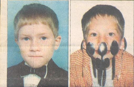 Мальчики Джонатан (слева) и Василий).