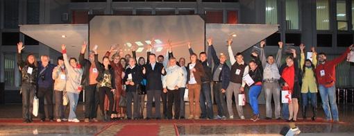 Стоп-кадр на память - победители, призеры, члены жюри и организаторы фестиваля