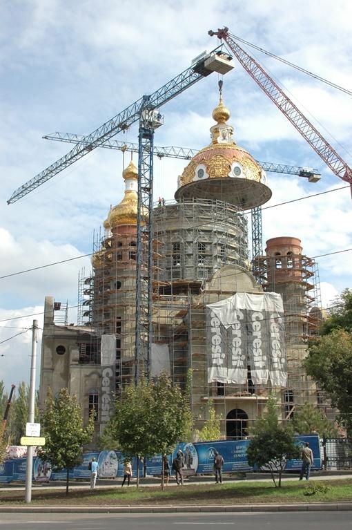 Купол будет виден во всех уголках города. Фото: Константин БУНОВСКИЙ