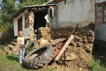 Обваленный детсад в селе Березино. Фото: Максим Войтенко