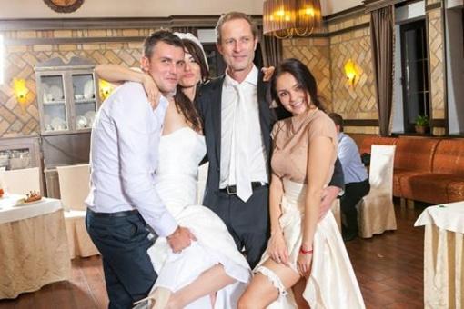 Скорикова на свадьбе. Фото: соцсети