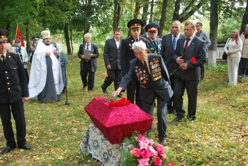Соратника Кирпоноса похоронили возле памятника неизвестному солдату в селе Харьковцы