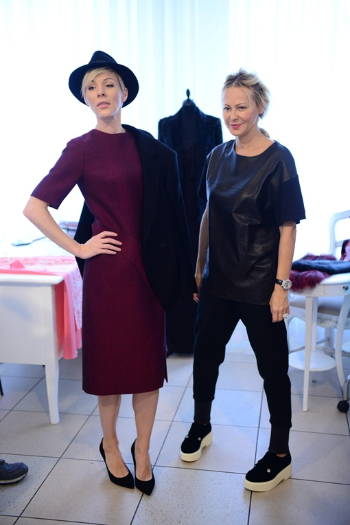 Дизайнер Ольга Аленова взялась за наряд Марины Леончук с большим энтузиазмом. Фото предоставлено каналом