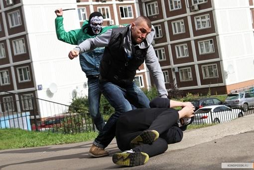 В съемках участвовали реальные ультрас, которые и дрались не понарошку.  Фото: kinopoisk.ru