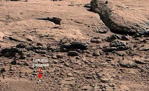 Объект обнаруживается после небольшого зума. Фото: НАСА