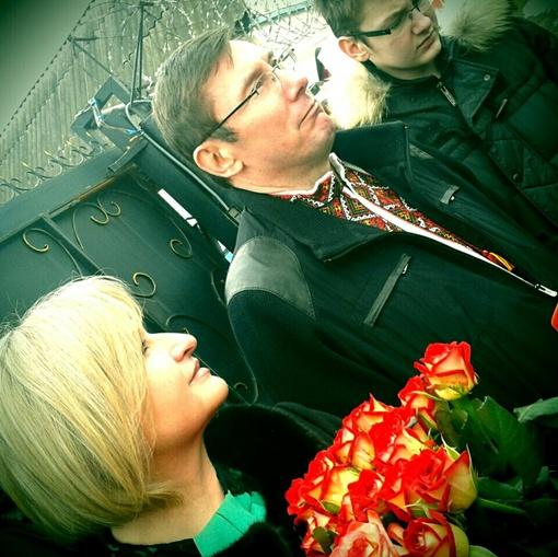 Юрий Луценко вышел на свободу. Фото Ольги Сницарчук/РБУ-Украина