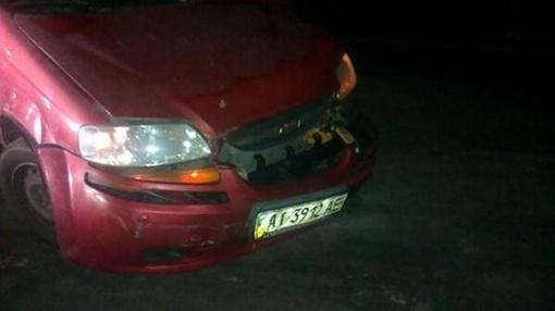 Машина Татьяны Чорновил после нападения. Фото: twitter.com/mefimus
