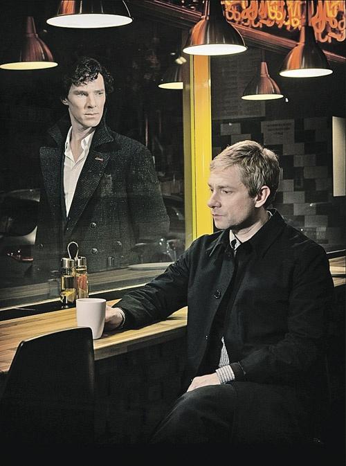Создатели сериала обещают, что на возвращение Холмса Уотсон отреагирует куда более эмоционально, чем в первоисточнике. Фото: Hartswood Films/ BBC Worldwide/Первый канал.
