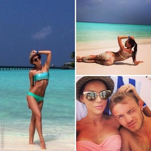 Гречишкин отправился на Мальдивы с любимой девушкой Анастасией, фото: instagram.com