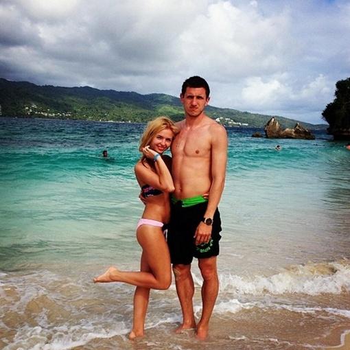 Кривцов с супругой Юлей загорали на Доминикане, фото: instagram.com