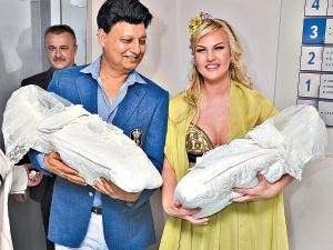 Украинская певица подарила пакистанскому миллиардеру двойную радость: Арабеллу и Мирабеллу. Фото: Оскар ЯНСОНС.