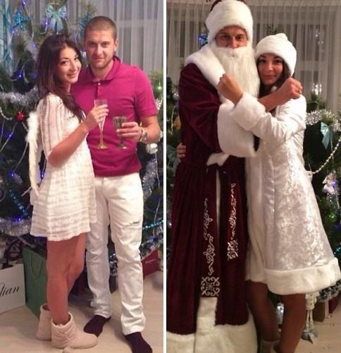 Ракицкие быстро перевоплотились в Деда мороза и Снегурочку, фото: instagram.com