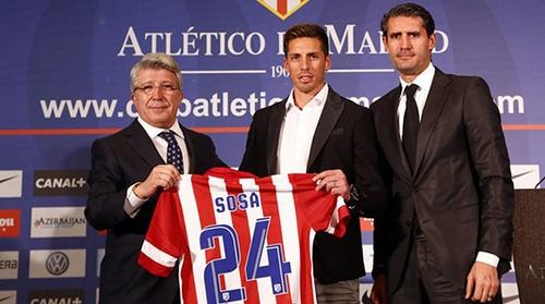 Соса будет играть в Атлетико на правах аренды. Фото: Спорт.ua