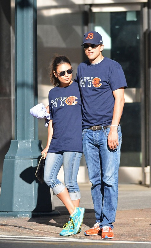 Ранее пару уже ни один раз замечали вместе. Фото: hollywoodlife.com