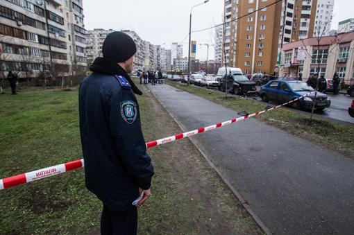 Сегодня на улице Вишняковской в Дарницком районе Киева случилось ЧП.