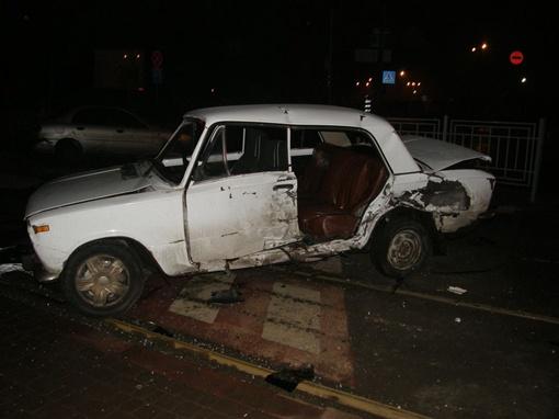 В аварии погибла женщина. Фото: пресс-служба ГАИ Харькова